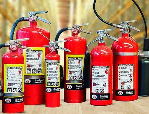 Cuáles son los 3 mejores tipos de extintores en caso de incendio