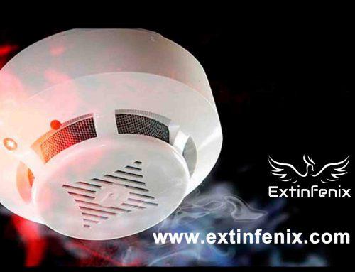 El control de incendios mediante detectores de humo