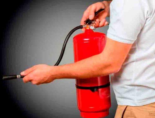 La importancia de tener un extintor en casa